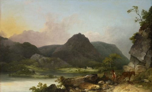 Philippe-Jacques De Loutherbourg (1740 - 1812) - View of Lake Buttermere