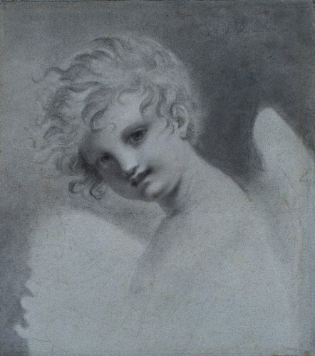 Love trying the effect of its torch - Entourage of Pierre-Paul PRUD'HON (1758-1823)