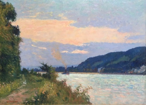 Narcisse Guilbert (1878-1942) - The surroundings of Rouen