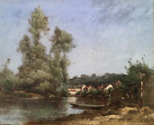 Paul-Désiré TROUILLEBERT (1829-1900) - Valley of the Loire