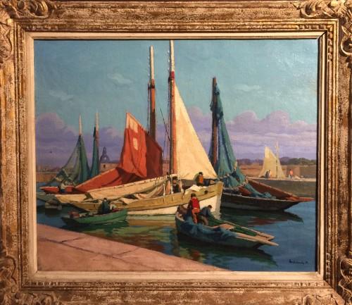 Concarneau - Paul Eschbach (1881-1961)