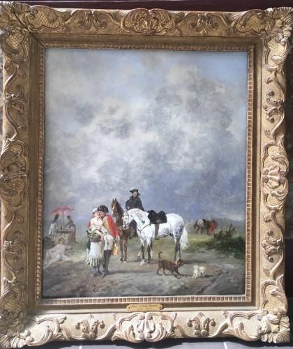JOHN LEWIS BROWN-1829-1890 - Paintings & Drawings Style