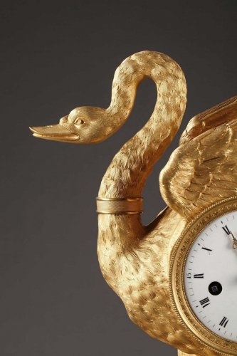 Clocks  - Swan clock of French Empire period