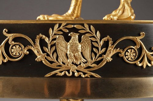 Swan clock of French Empire period -