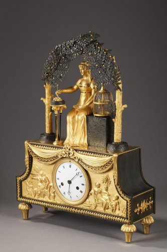 "Clock ""Joséphine"" of French Empire period -"