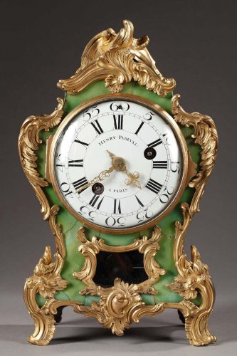 Cartel signed Henri Pasdeval - Clocks Style Louis XV
