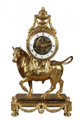 Bull Clock