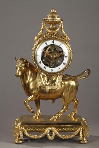 Clocks  - Bull Clock