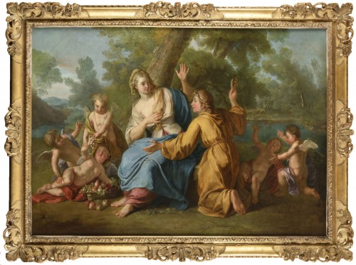 Samuel MASSÉ (Tours 1672-1753 Paris) - Vertumnus and Pomona