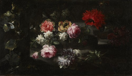 Margherita CAFFI (1647-1710) Still lifes flowers