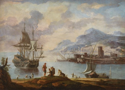 Alessandro Grevenbroeck Milan end of the XVIIth century - after 1748 Venice