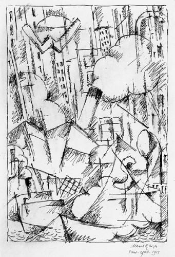 Albert Gleizes (1881-1953) - New York