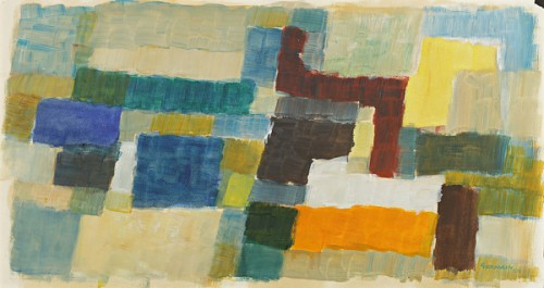 Jacques Germain (1915-2001) - Composition, 1993
