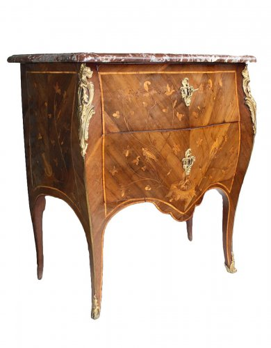 A Louis XV Commode by Jean Demoulin