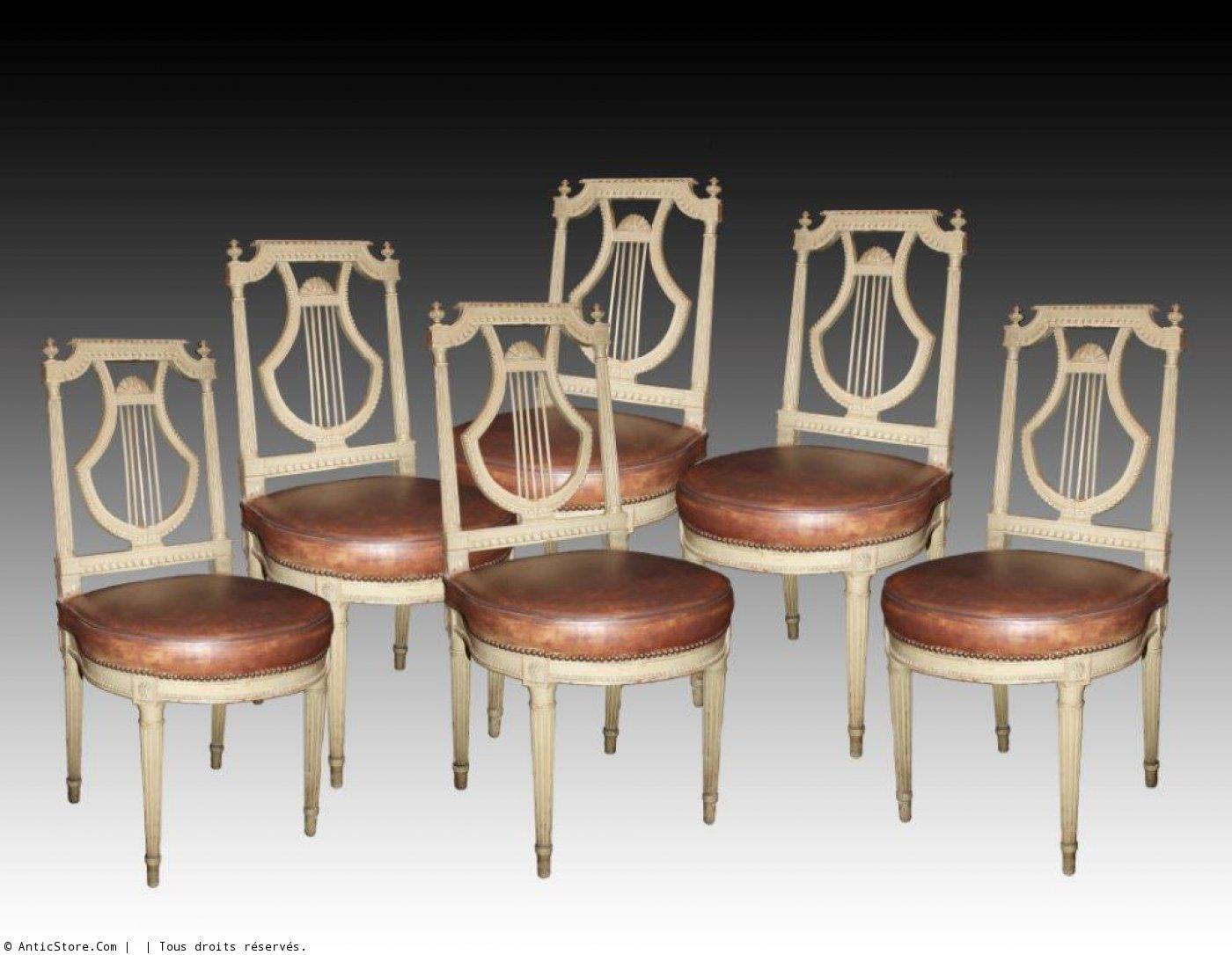 A fine louis xvi mobilier de salle manger for Mobilier salle a manger