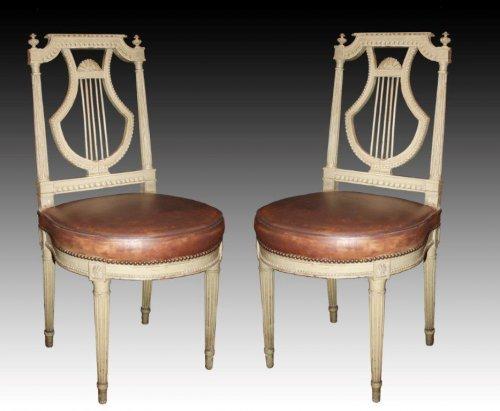 """A fine Louis XVI """"mobilier de salle à manger"""" - Seating Style Louis XVI"""