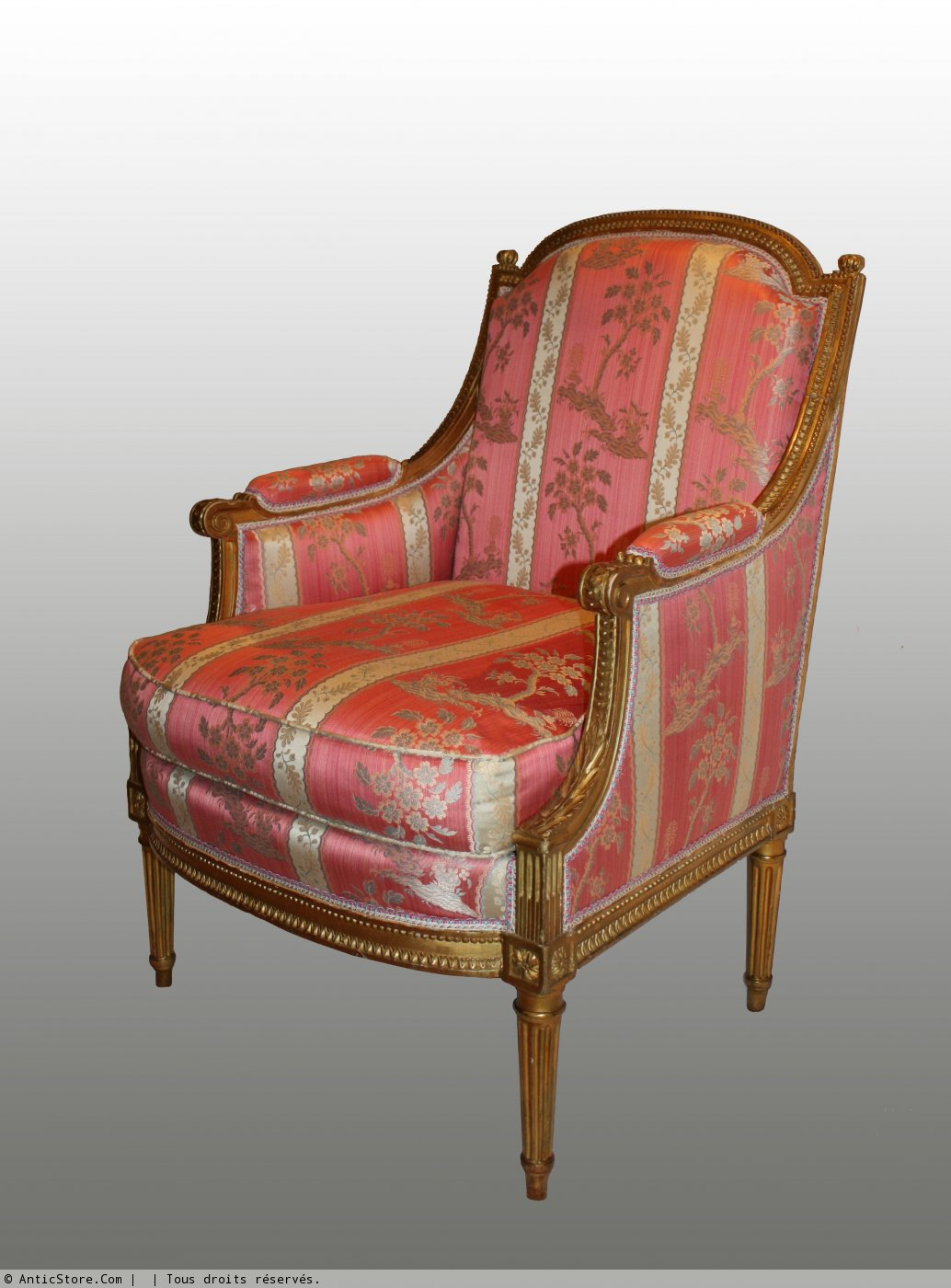 petit mobilier en bois dor par marc gautron anticstore antiquit s 18 me si cle r. Black Bedroom Furniture Sets. Home Design Ideas