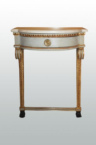 A pair of Louis XVI consoles - Furniture Style Louis XVI