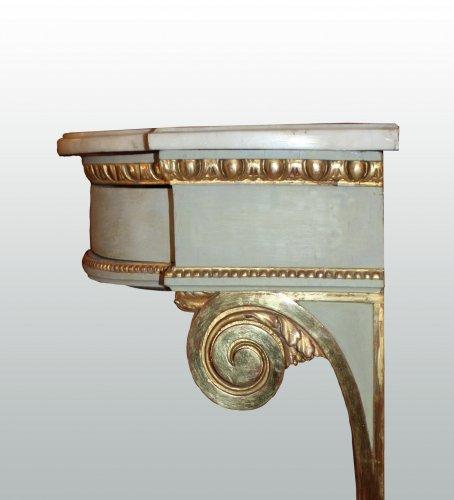 18th century - A pair of Louis XVI consoles