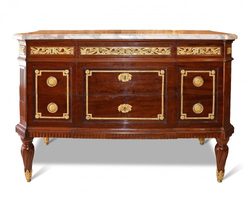 "A Louis XVI commode ""à encadrements"" by Cramer and Dautriche"