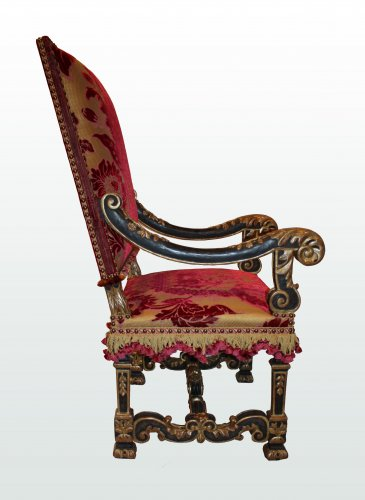 A pair of louis xiv fauteuils - Seating Style Louis XIV