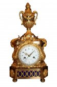 """A louis xvi """"au vase"""" mantel clock le cœur à paris"""