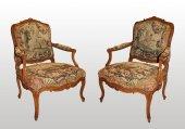 """a rare and fine Louis XV """"mobilier de salon"""" by jean-baptiste lelarge"""