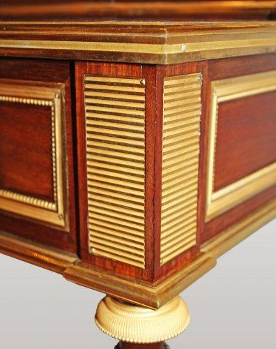 """Furniture  - A Louis XVI """"à encadrements"""" bonheur-du-jour by Adam Weisweiler"""