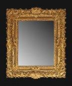 "A rare and fine louis xiv frame ""aux armes"""