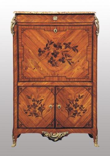 Rare Louis XV Secretaire de Dame by RVLC