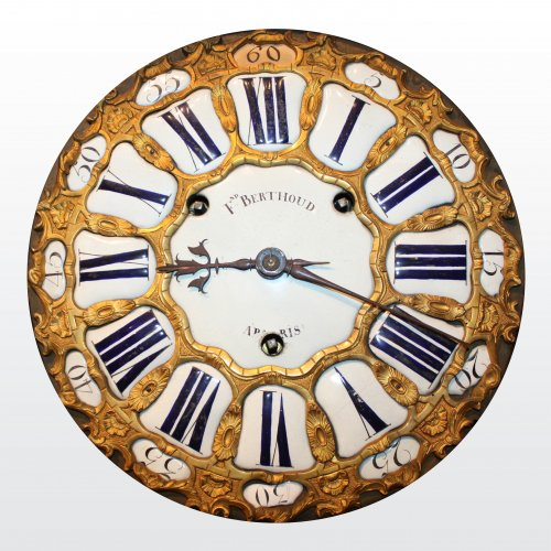A large Louis XV Cartel by Ferdinand Berthoud - Clocks Style Louis XV