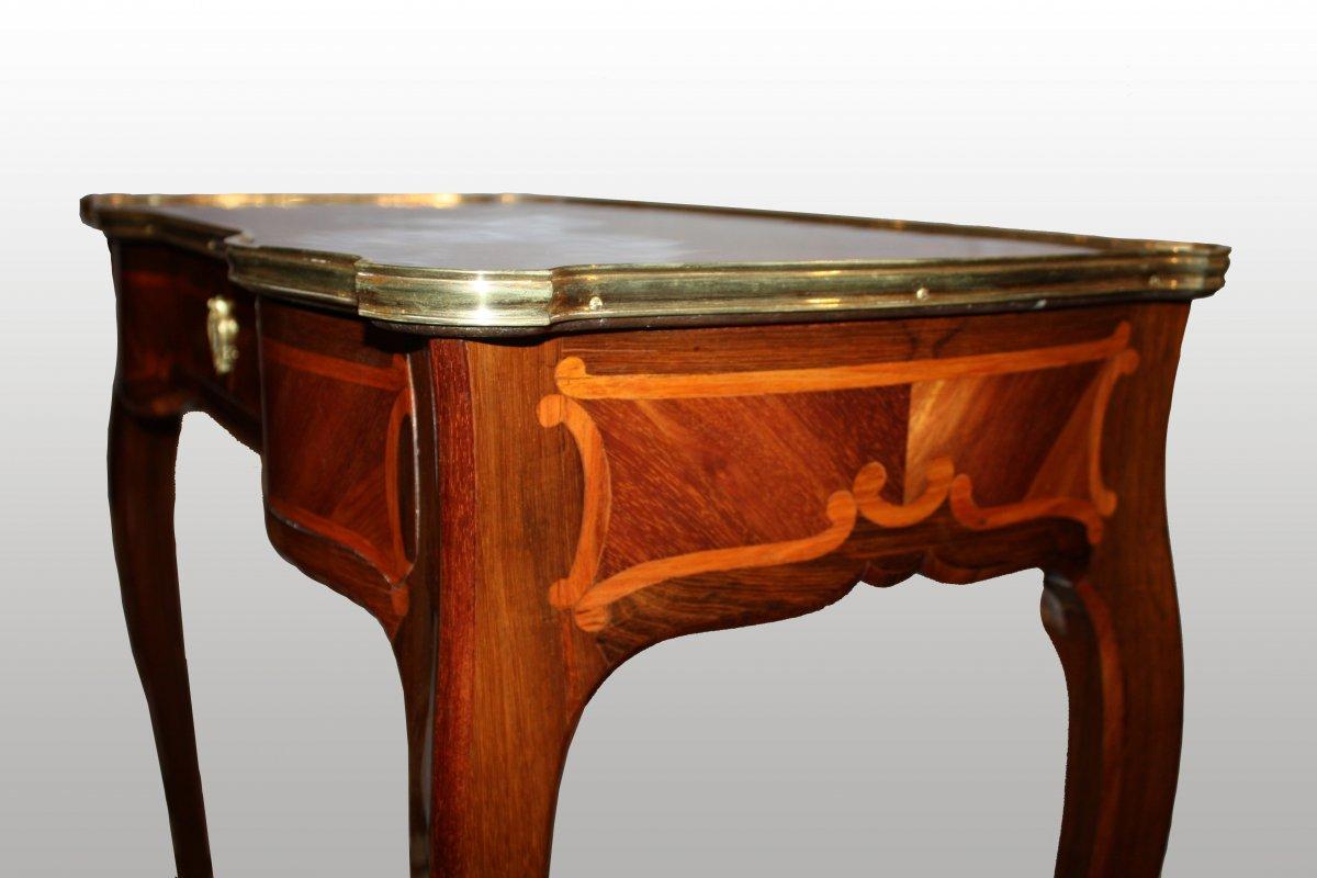glissi re table bois. Black Bedroom Furniture Sets. Home Design Ideas