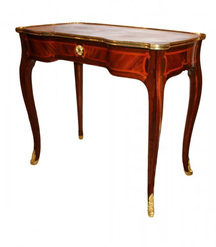 "A Louis XV ""Table à Glissière"" by Jacques Dautriche"