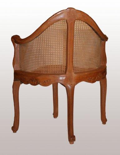 Seating  -  A Louis XV Fauteuil de Bureau by Pierre IV Migeon