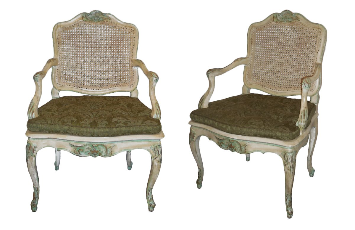 a fine regence louis xv 39 mobilier de salle manger 39 ref. Black Bedroom Furniture Sets. Home Design Ideas