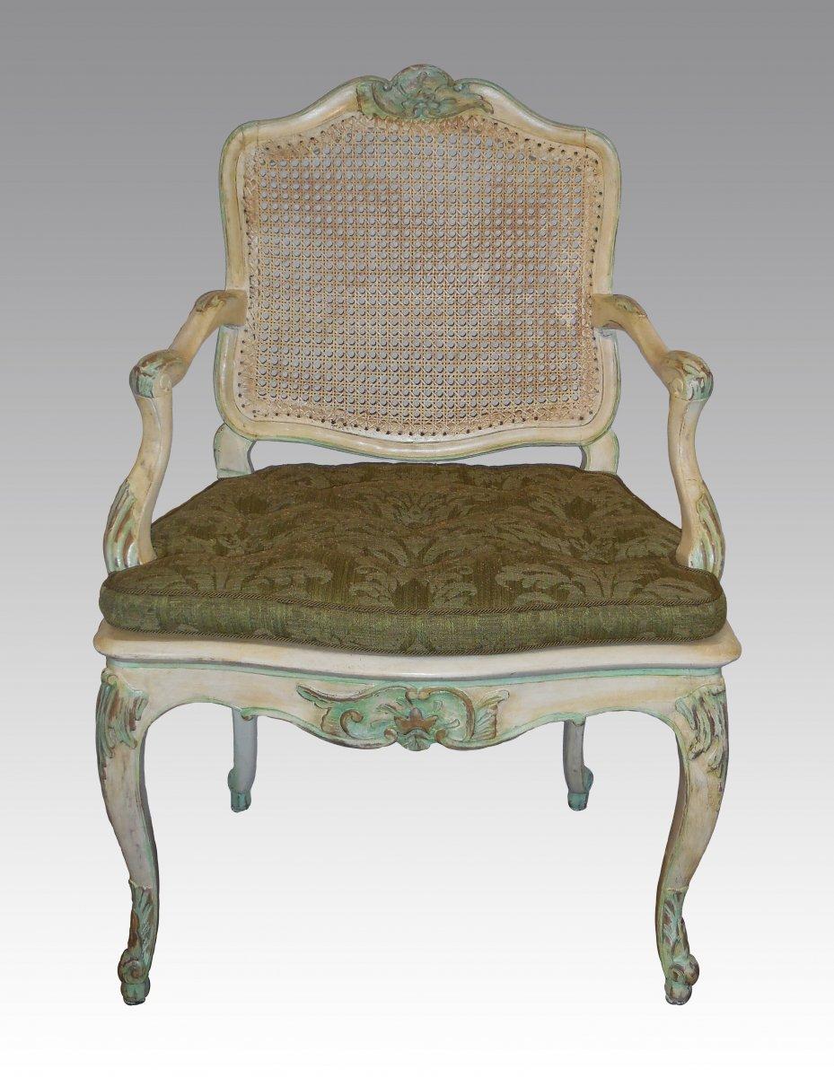 A fine regence louis xv 39 mobilier de salle manger 39 ref for Salle de bain louis xv