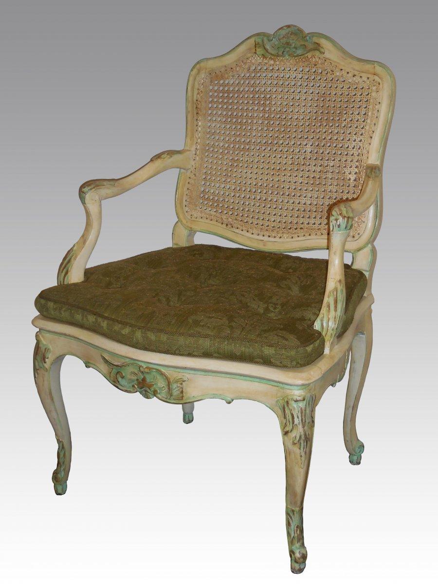 a fine regence louis xv 39 mobilier de salle manger 39 ref. Black Bedroom Furniture Sets. Home Design Ideas