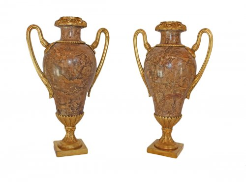 Fine Pair of Louis XVI Vases