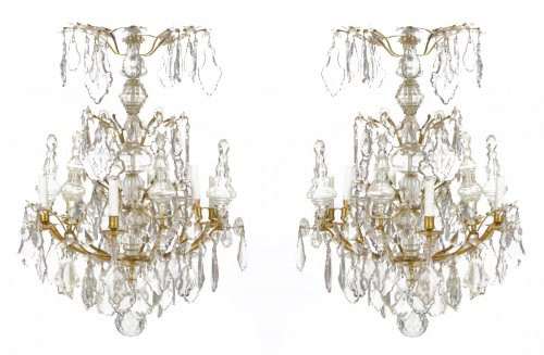 A pair of Louis XV Chandeliers