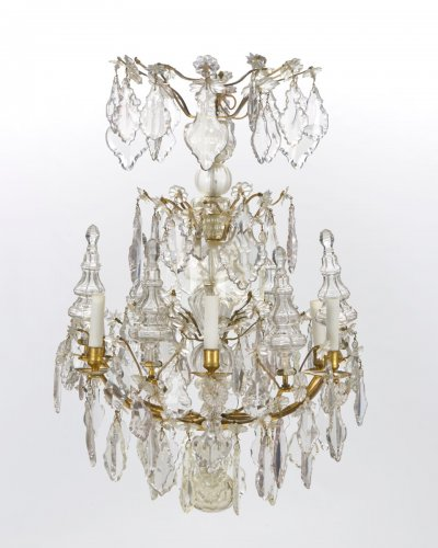 A pair of Louis XV Chandeliers  - Lighting Style Louis XV