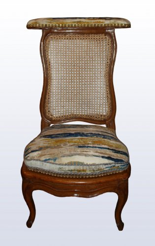 Seating  - A pair of Louis XV caned  beechwood Ponteuses  by Sulpice Brizard