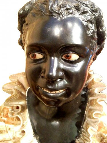 Busts of young Nubians - Sculpture Style