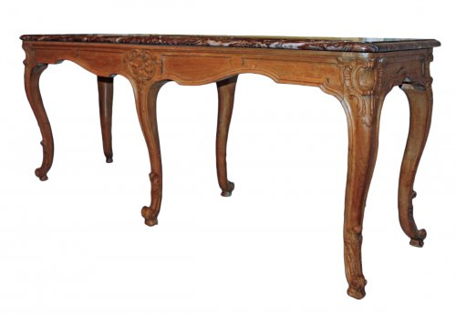 A Louis XV carved wood Table de Milieu