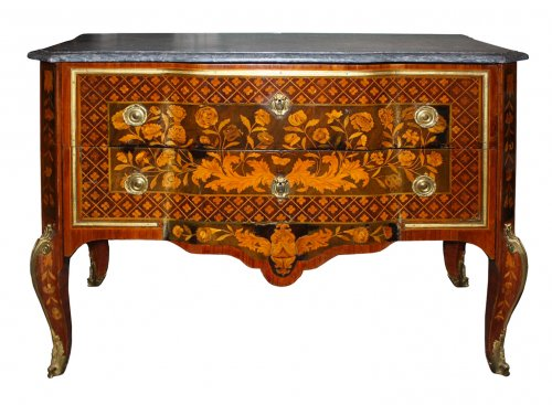 A Transitional commode stamped Charles Krier