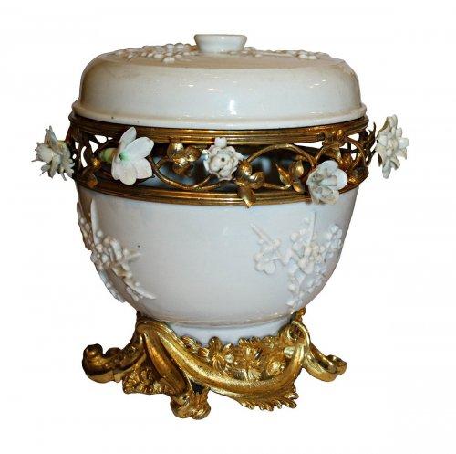 A Louis XV ormolu-mounted  Pot-Pourri vase