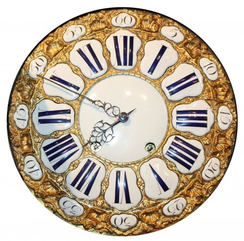 A Louis XV musical bracket Clock by Joseph de Saint-Germain -