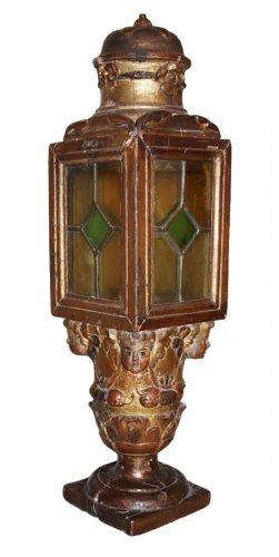 A 17th Century giltwood Lantern