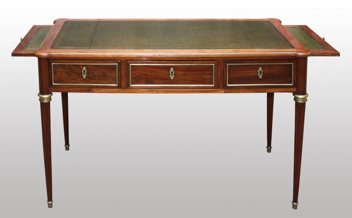 petit bureau de dame en acajou estampill d etienne avril xviiie si cle. Black Bedroom Furniture Sets. Home Design Ideas