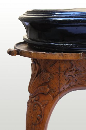 French Regence - A Regence carved games Table
