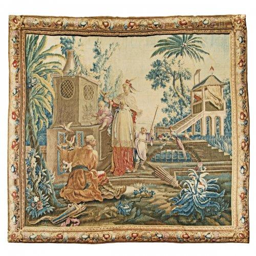 Tapisserie tapis xviiie si cle antiquit s et objets d 39 art d 39 - Manufacture d aubusson ...